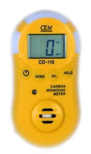 一氧化碳檢測儀CO-110價格香港CEM華北總代理 CO-110