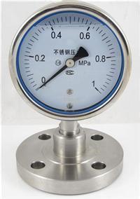 不锈钢压力表 YBF-150 天康
