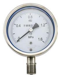 耐震压力表 YN-100TQ 0~1.6MPa