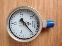 不锈钢耐震压力表 ybfn-100 0-0.1MPa