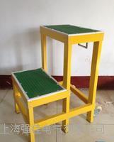 梯凳兩層-絕緣材料制作 80cm高度帶移動輪 玻璃鋼絕緣凳子