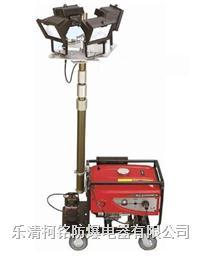 M5000全方位自動升降工作燈,4x1000W移動照明車 SFW6110-4X1000W