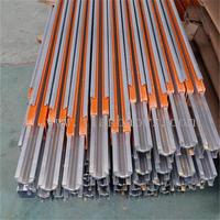 單極H型鋁合金外殼滑觸線