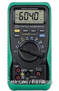 日本共立|多功能電表KEW-1011/KEW-1012 數字萬用表