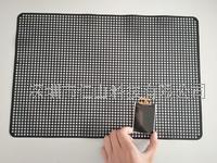 黑色硅膠防滑墊、黑色無痕耐高溫止滑墊 大尺寸LCM用硅膠防滑墊、耐高溫硅膠防滑墊、供應潔凈不留痕防滑墊、無印硅膠防滑墊
