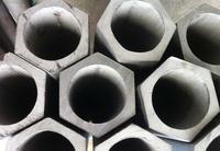 机械设备零件用外六角内六角不锈钢异型管