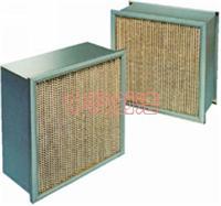AAF高效過濾器 AAF各種型號高效過濾器、AAF有隔板高效過濾器、AAF無隔板高效過濾器、AAFV型高效過濾器
