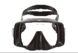 无框潜水面镜 X-Deep M10 Mask