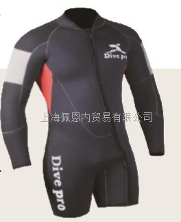 5毫米分体式潜水湿衣(上衣)