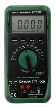 智能型數字萬用表 DY2108