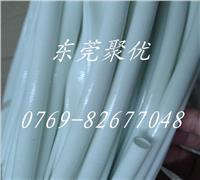 供應Φ5.0mm、Φ6.0mm、Φ7.0mm白色硅膠玻纖套管、白色自熄管、白色纖維管 JYT