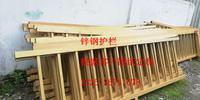 材质为锌钢与不锈钢护栏 防撞隔离栏