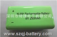 測線儀萬用表對講機無線麥克風專用9V充電電池250毫安 9V