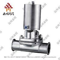 不锈钢气动隔膜阀-卫生级
