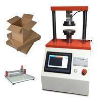 觸屏控制紙板邊壓環壓強度檢測儀器 紙板測試設備 BLD-609