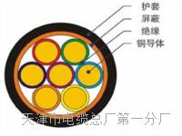 20米矿用通信拉力电缆MHYBV-7-2-X20厂家价格 MHYBV矿用电缆线