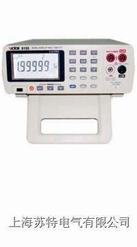 雙顯示臺式數字萬用表  VC8155