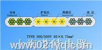 TVVB絞合型排列扁形電梯電纜