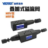 疊加式溢流閥 MRV-02A, MRV-02B, MRV-02P, MRV-02W