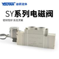 氣動電磁閥 SY7120-4LZD-02 AC220V 插座式,SY7420-4LZD-02 AC220V 插座