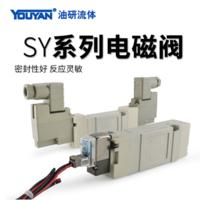 氣動電磁閥 SY7140-5LZD-02 DC24V 插座式,SY7440-5LZD-02 DC24V 插座式