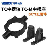 SC標準氣缸附件 TC-32 單獨座一對, TC-40 單獨座一對, TC-50 單獨座一對