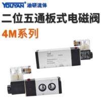 亞德客型板式電磁閥 4M210-08 DC24V, 4M210-08 AC220V, 4M210L-08 加長款