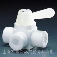 flon株式會社フロンケミカル_氟樹脂(PTFE)二人球閥_NR0002-006 NR0002-006