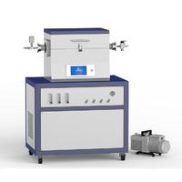 1200℃單溫區3路浮子供氣低真空CVD系統