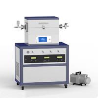 1200℃單溫區3路質量供氣低真空CVD系統