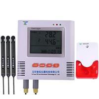 三路溫濕度記錄儀帶聲光報警 i500-E3TH-A