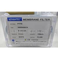 日本东洋ADVANTEC白色亲水性 PTFE膜微孔滤膜0.20um47mm