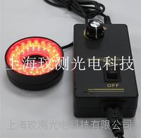28/42MM雙螺紋紅光LED環形光源燈源 WC-2842H