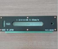 日本原装进口RSK水平仪 新泻理研条形水平仪542-1502V 150*0.02 542-1502V
