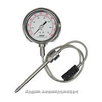 變送輸出溫壓雙測壓力表