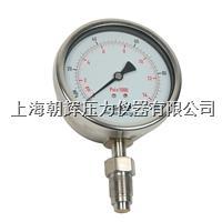 青岛标准型卫生隔膜压力表