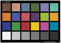 ColorChecker測試卡
