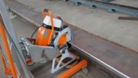 N.KO恩科自動行走坡口機UZ15加工度3.5米每分鐘,適合碳鋼、不銹鋼、鋁等材