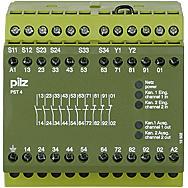 供應PILZ屏蔽繼電器,**介紹皮爾茲屏蔽繼電器 PNOZ s4 48-240VACDC 3 n/o 1 n/c
