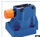 操作力士樂先導控制溢流閥尺寸數據 R900596569