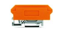 售:带有橙色隔板,WAGO轨装式接线端子280-609 281-349