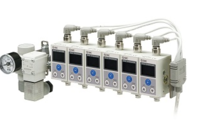 3種顏色顯示SMC數字式位置傳感器 ISA3-GCP-3LB-L2