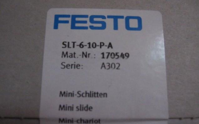 FESTO 170549 SLT-6-10-P-A 氣缸