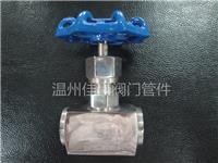 精品打造304,316不銹鋼J13W-320P,PN320,G1/2內螺紋4分絲牙高壓針型壓力儀表截止閥,氣源開關閥門 J13W-320P,G1/2