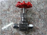 精品打造304,316不銹鋼J91W-160P,PN160,¢6雙卡套式針閥,卡套式截止閥 J91W-160P