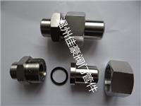 精品304SS,JB/T966,JB/T970平面密封焊接式直通終端中間管接頭,對焊式直通活接頭 JB/T970,JB/T966