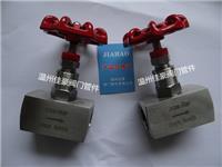 精品打造304,316不銹鋼J13W-16P,PN16,G1/2內螺紋針型壓力儀表截止閥,氣源開關閥門 J13W-16P,G1/2