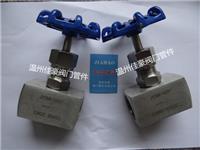 精品打造304,316不銹鋼J13W-25P,PN25,G1/4內螺紋2分絲牙針型壓力儀表截止閥,氣源開關閥門 J13W-25P,G1/4