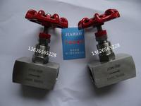 精品J13W-160P J13W-64P J13W-320P J13W-25P J13W-32P內絲螺紋針型閥門