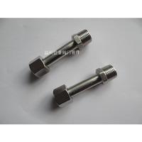 1/2NPT-M20*1.5 304SS不銹鋼加長內外螺紋壓力表接頭 M20*1.5-BW14